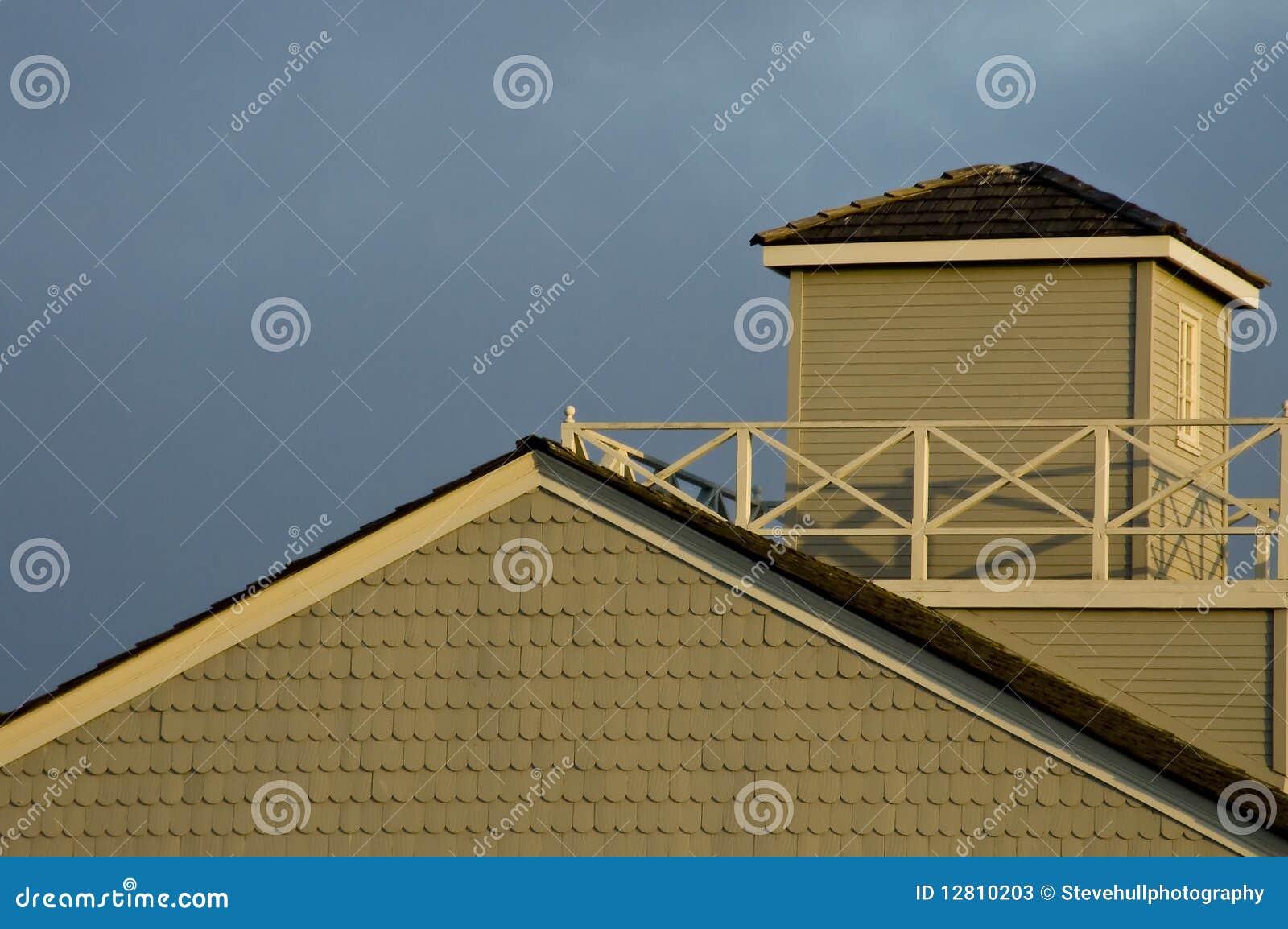 Detalhe do telhado