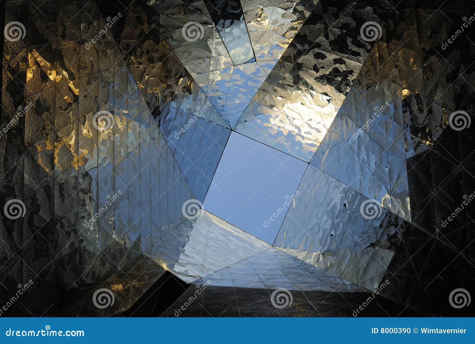 Detalhes arquitectónicos abstratos