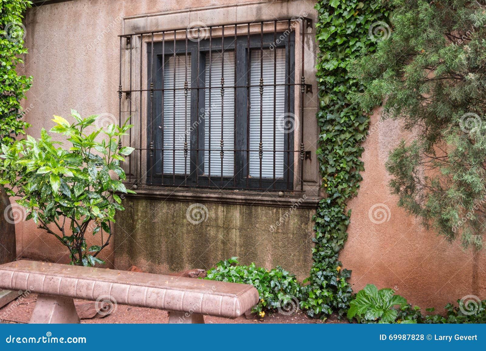 Detalhes arquitetónicos, Tlaquepaque em Sedona, o Arizona