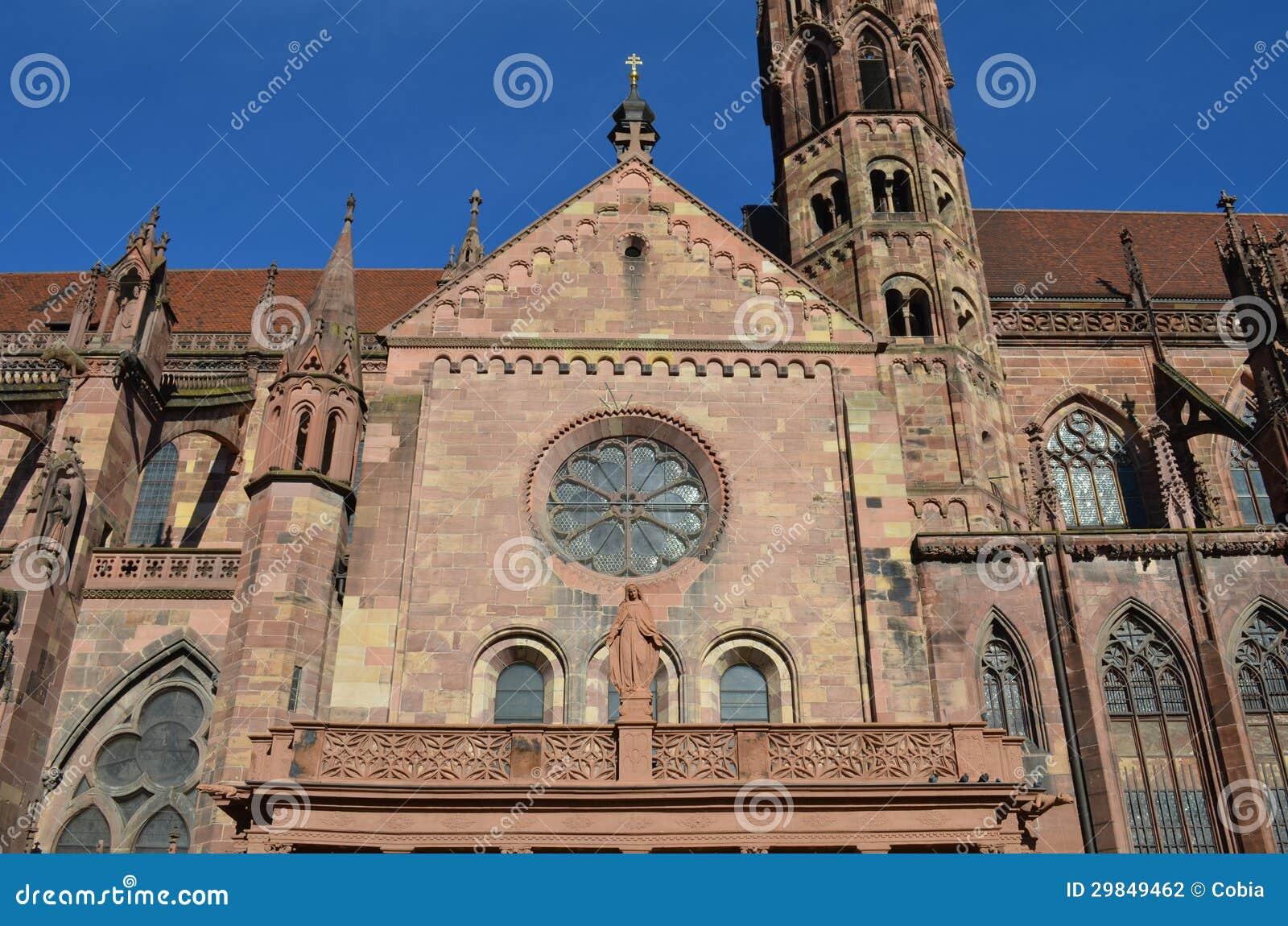Catedral gótico de Freiburg, Alemanha do sul