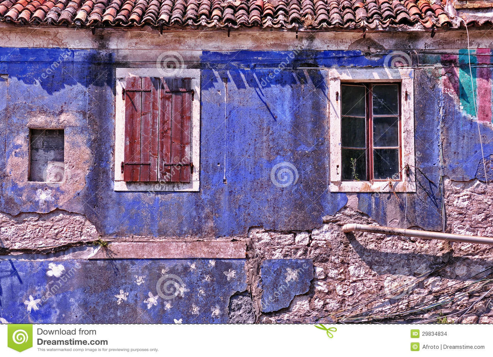 Casa de cortiço velha