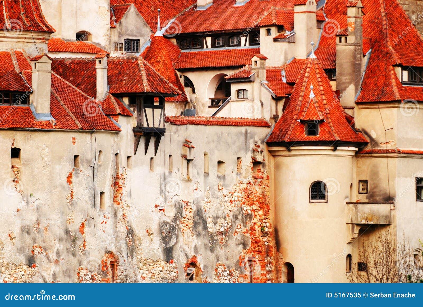 Detalhes do castelo do farelo