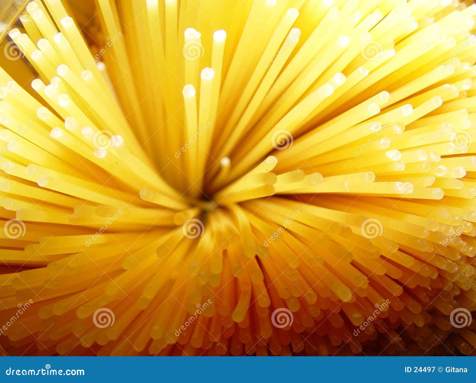 Detalhes do espaguete