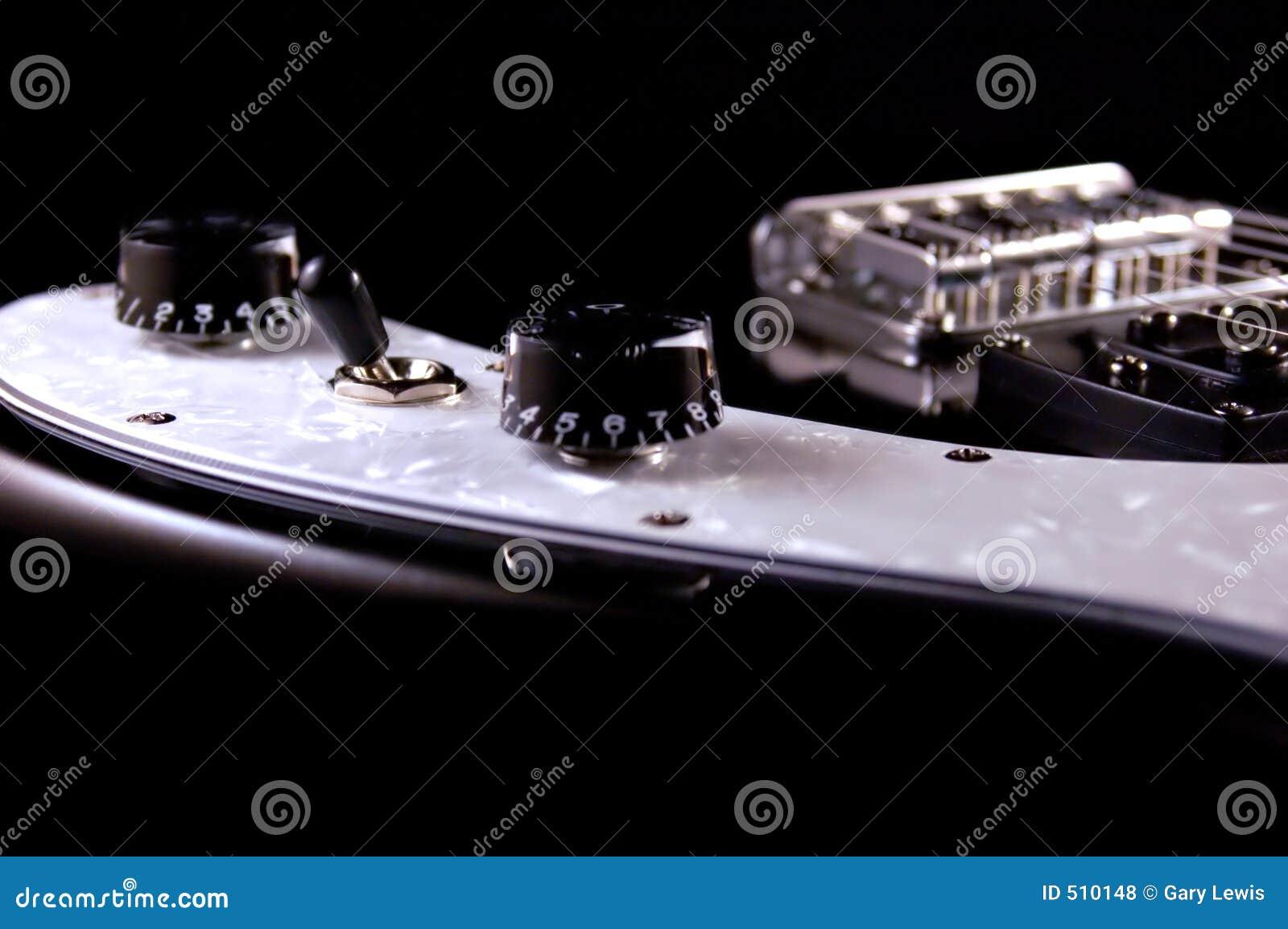 Detaljelkraftgitarr