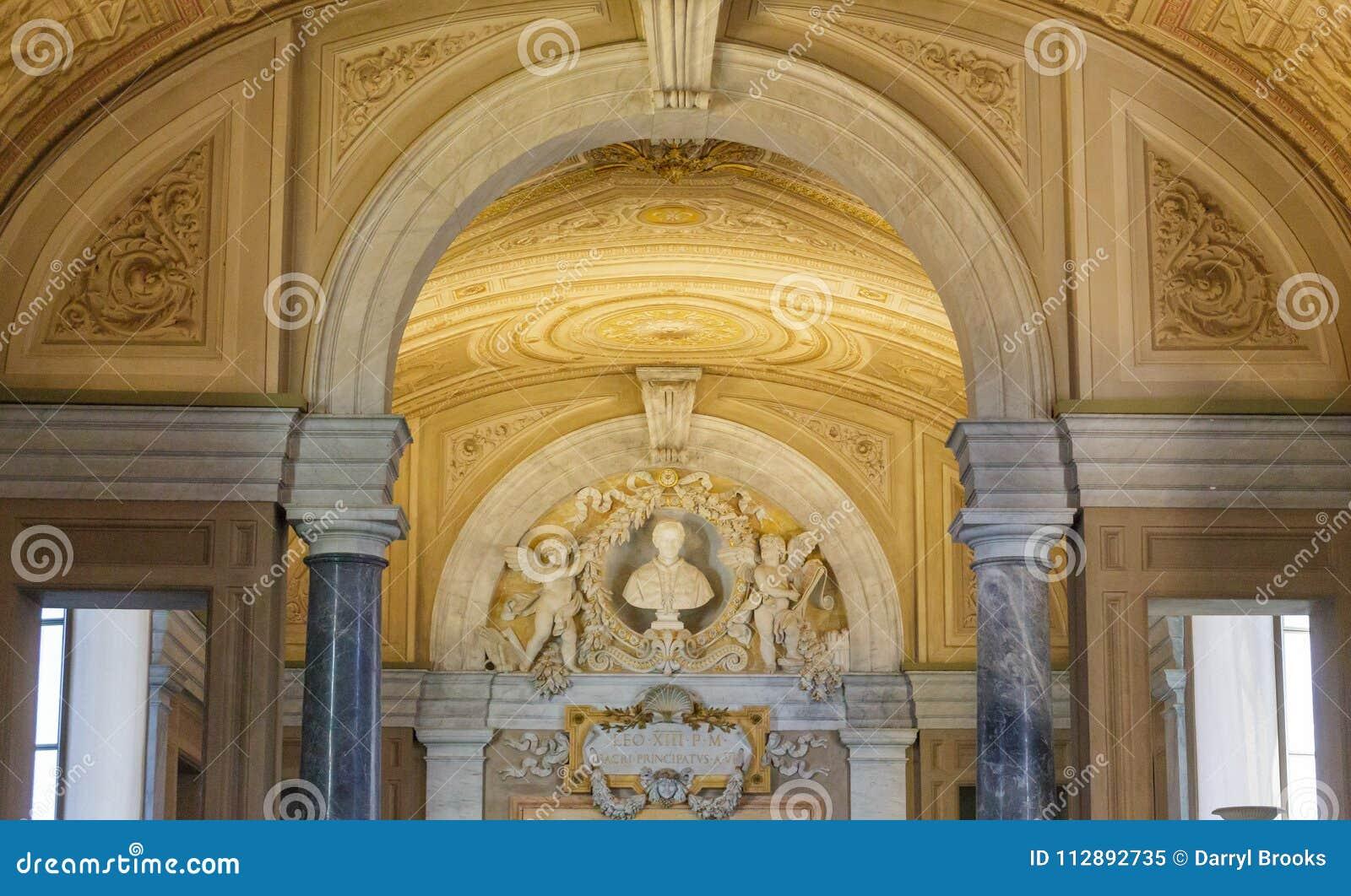 Detaljer i Vaticanenmuseet