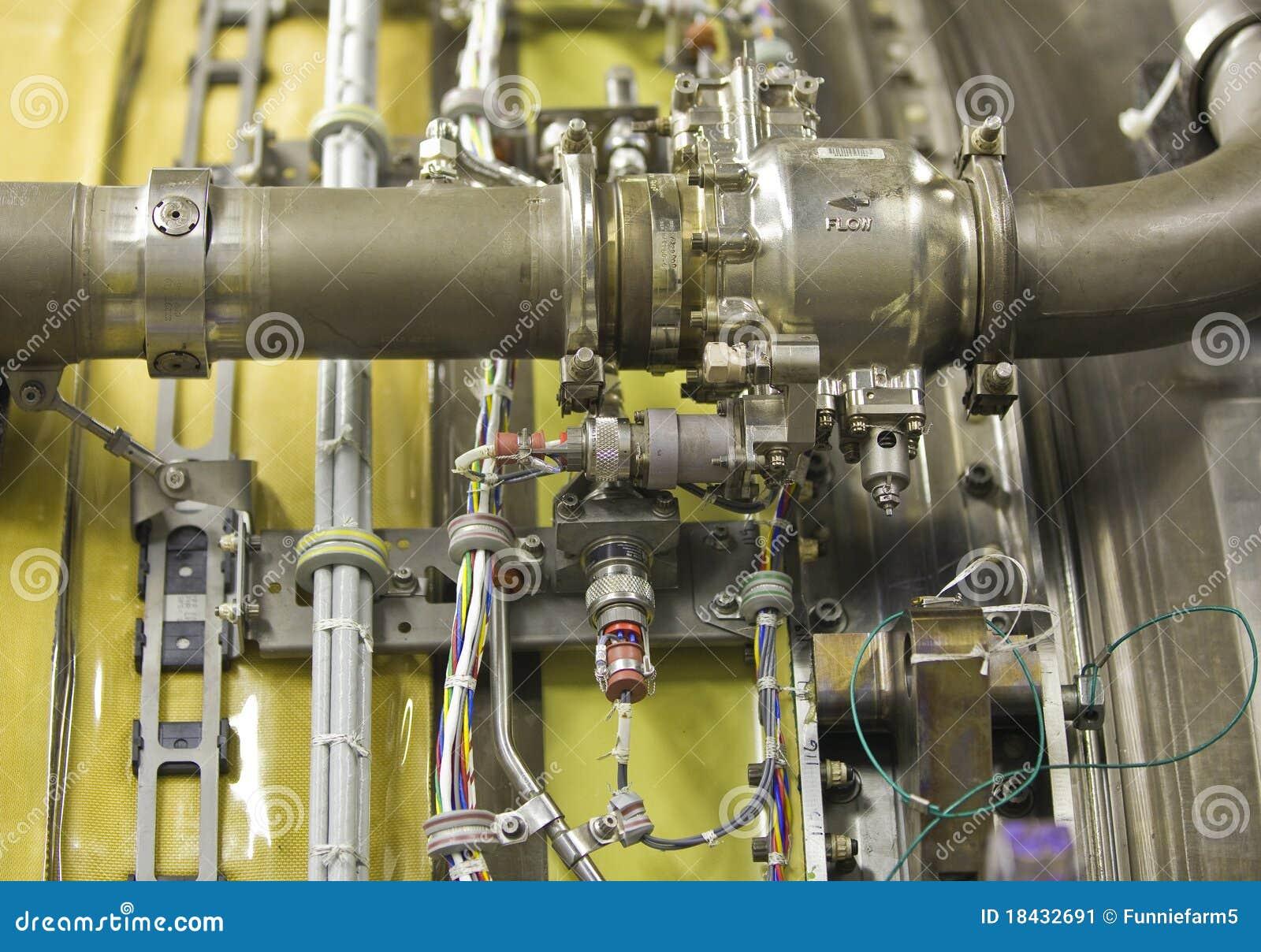 Detaljerad motorexponeringsstråle