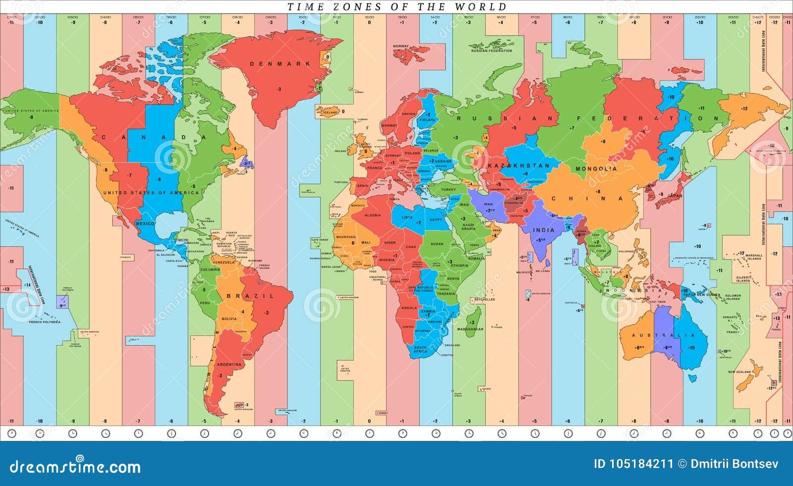 Karta Usa Tidszoner.Tidszoner Karta Aigb