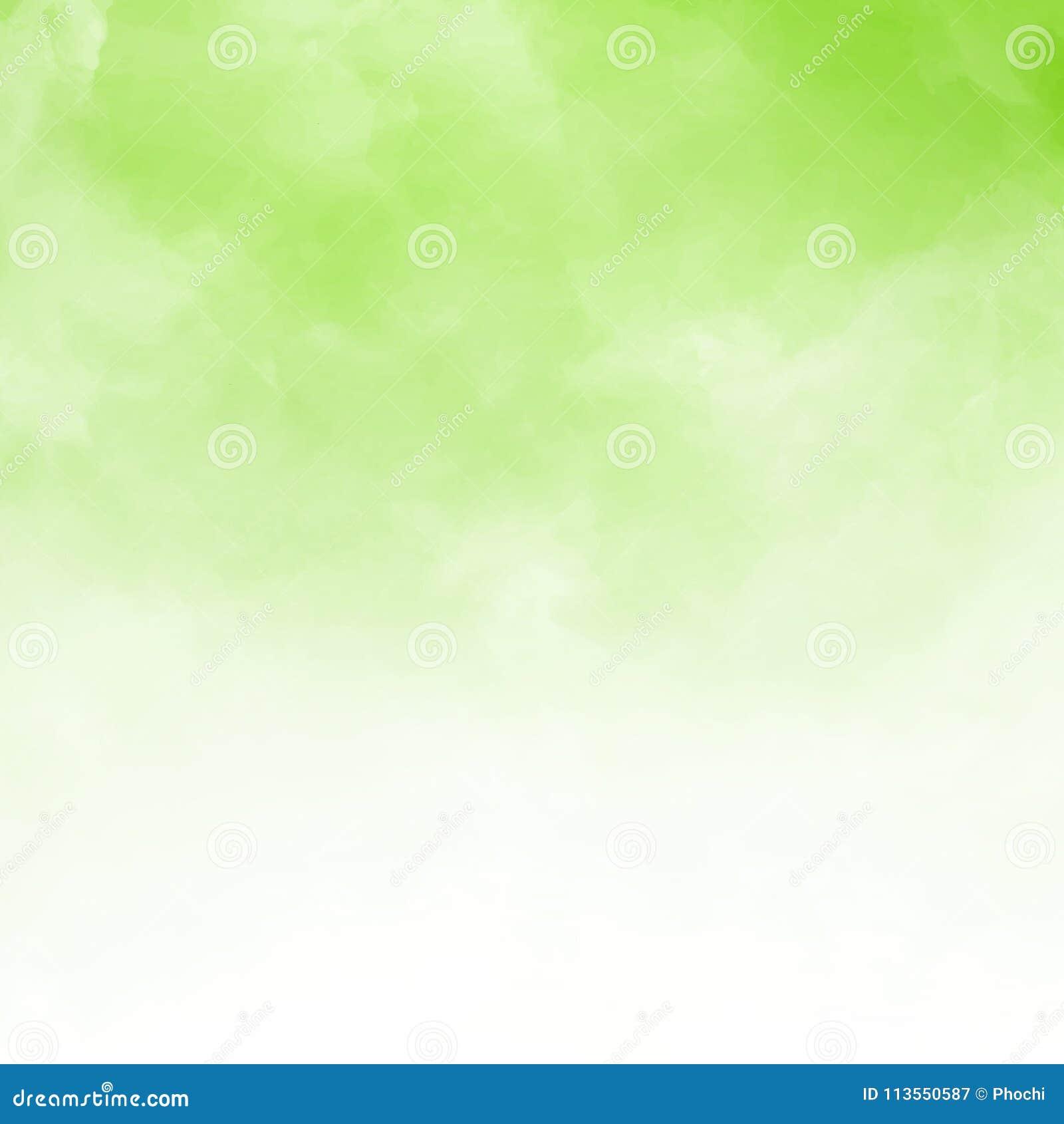 Detalle blanco de la nube en fondo natral verde y textura con c