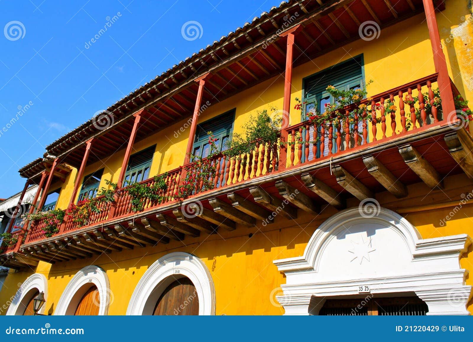 Detalle colonial de la casa cartagena colombia im genes - Detalles para la casa ...