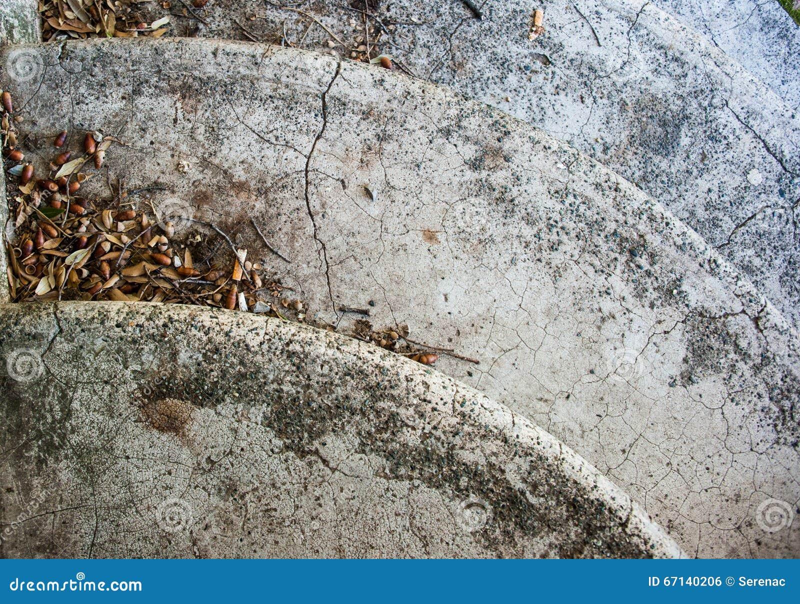 detalle de escaleras redondas
