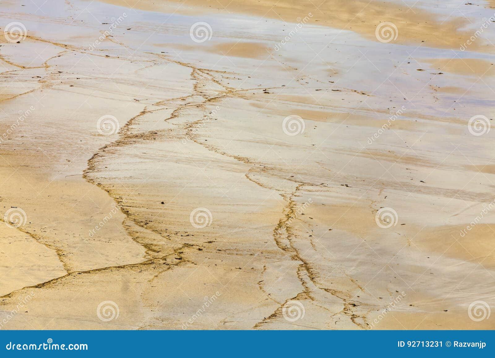 Detalle de la arena