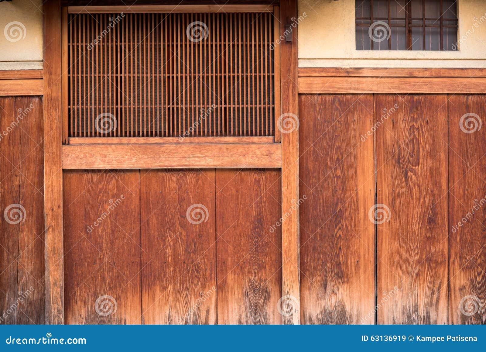 Detalle De La Casa Japonesa De Madera En Gion Imagen de ... - photo#34