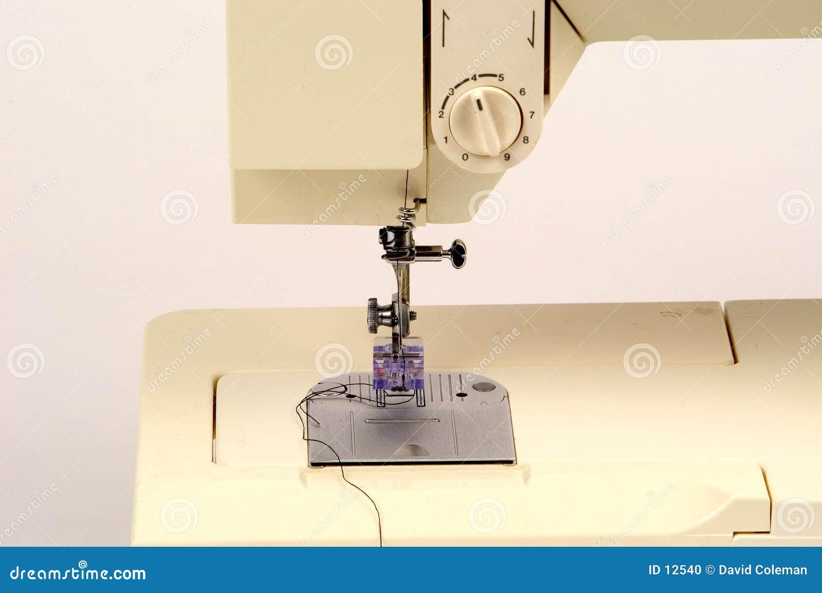 Detalle de la máquina de coser