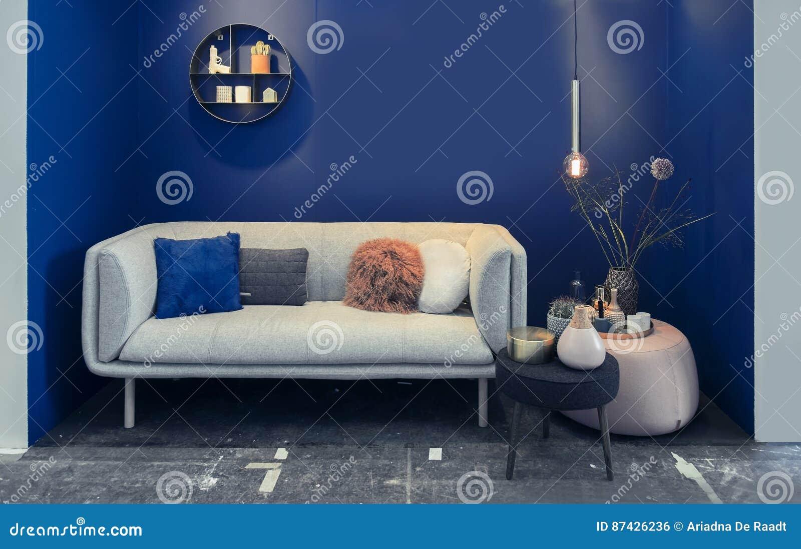 Detalle de los muebles interiores caseros