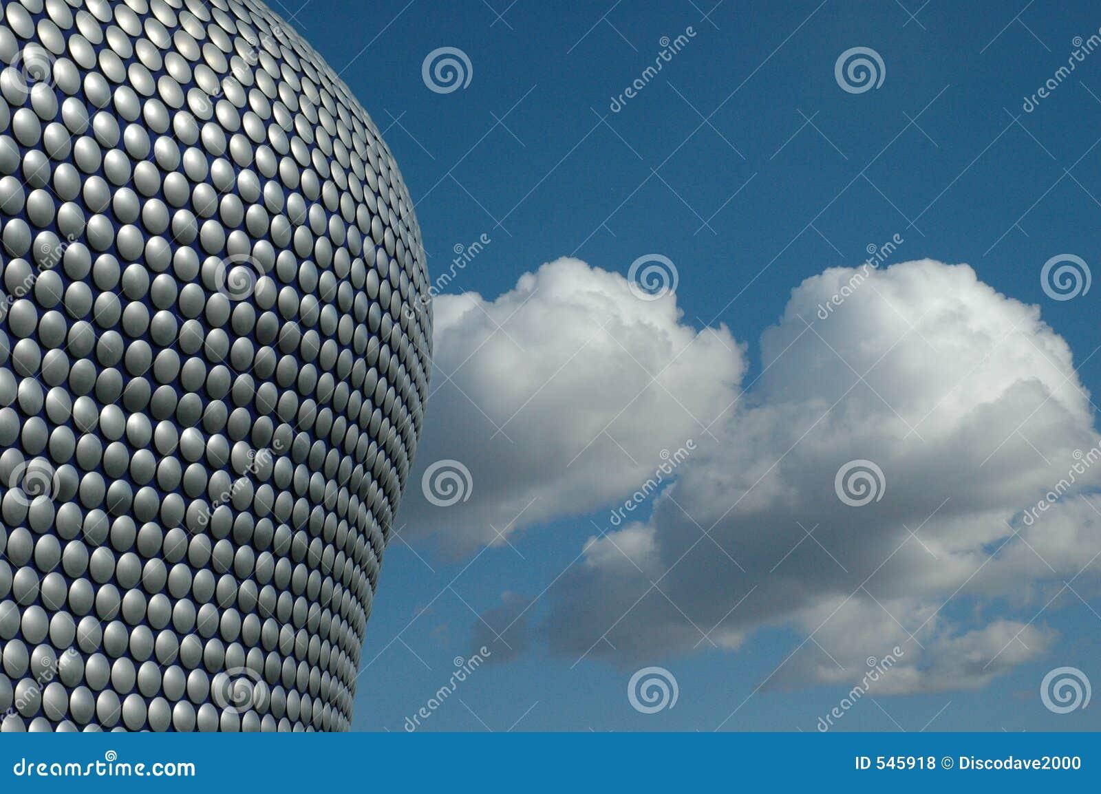 Detalle de un edificio moderno en Inglaterra 2