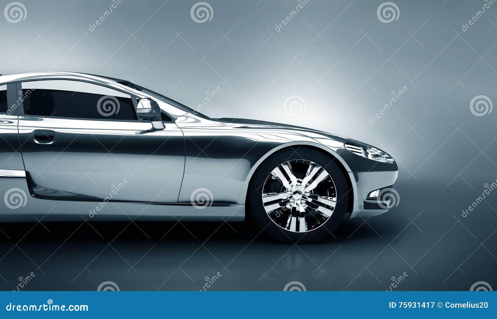 Detalle del coche deportivo
