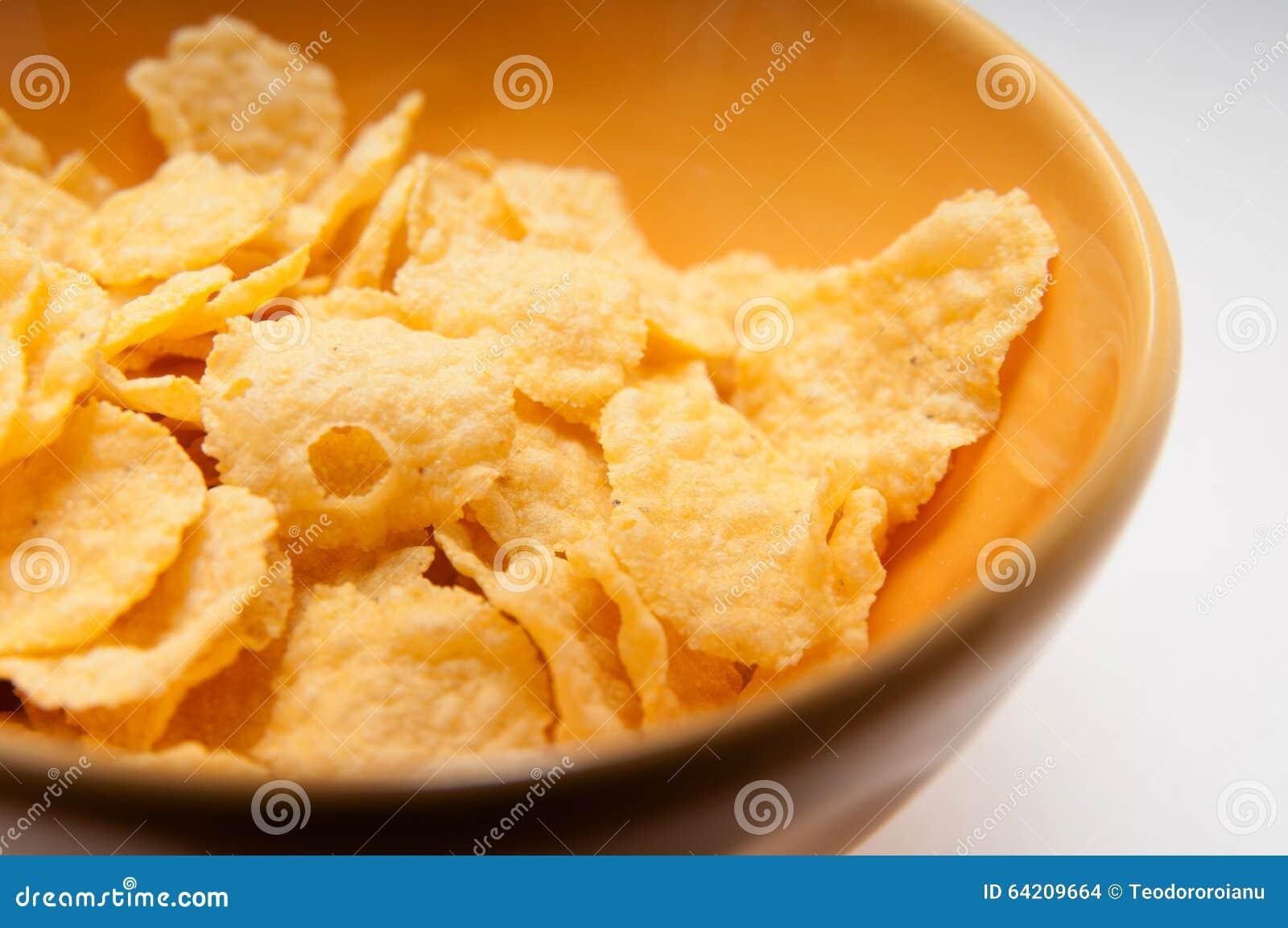 Detalle del cuenco de cereal