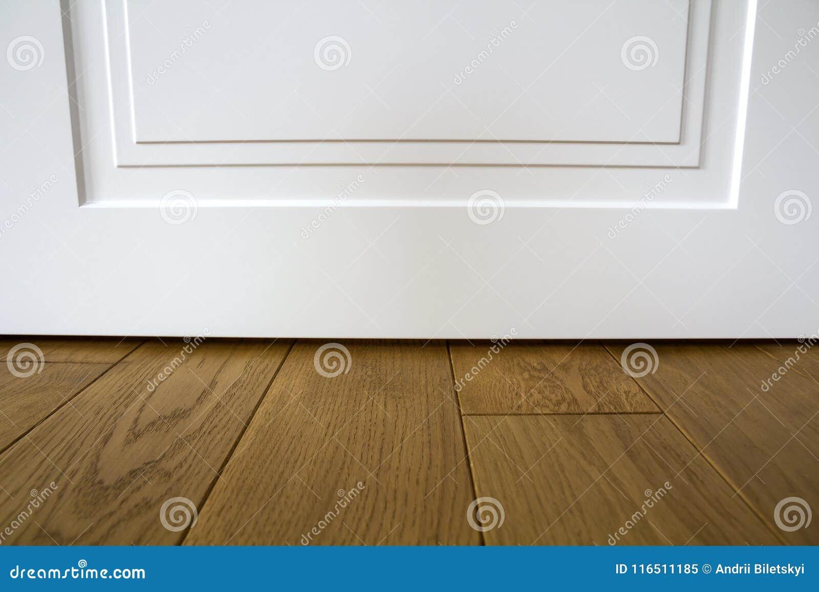 Detalle Interior De La Casa Moderna Con El Piso De