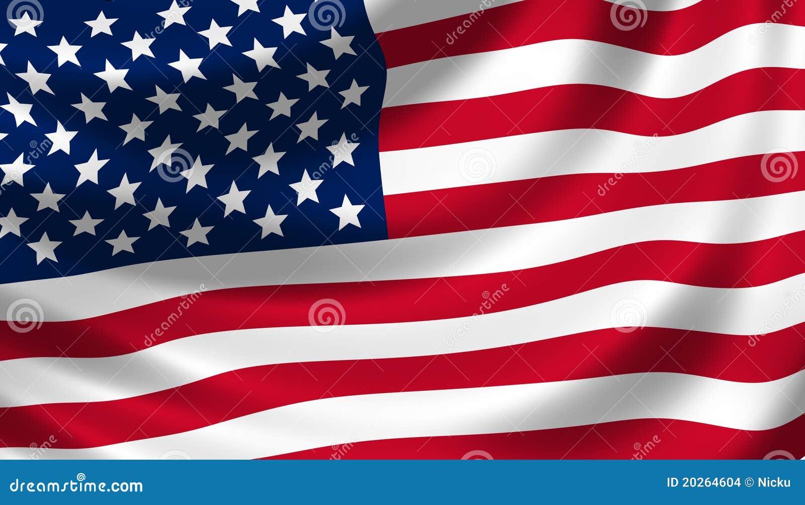 Detalle que agita del indicador americano