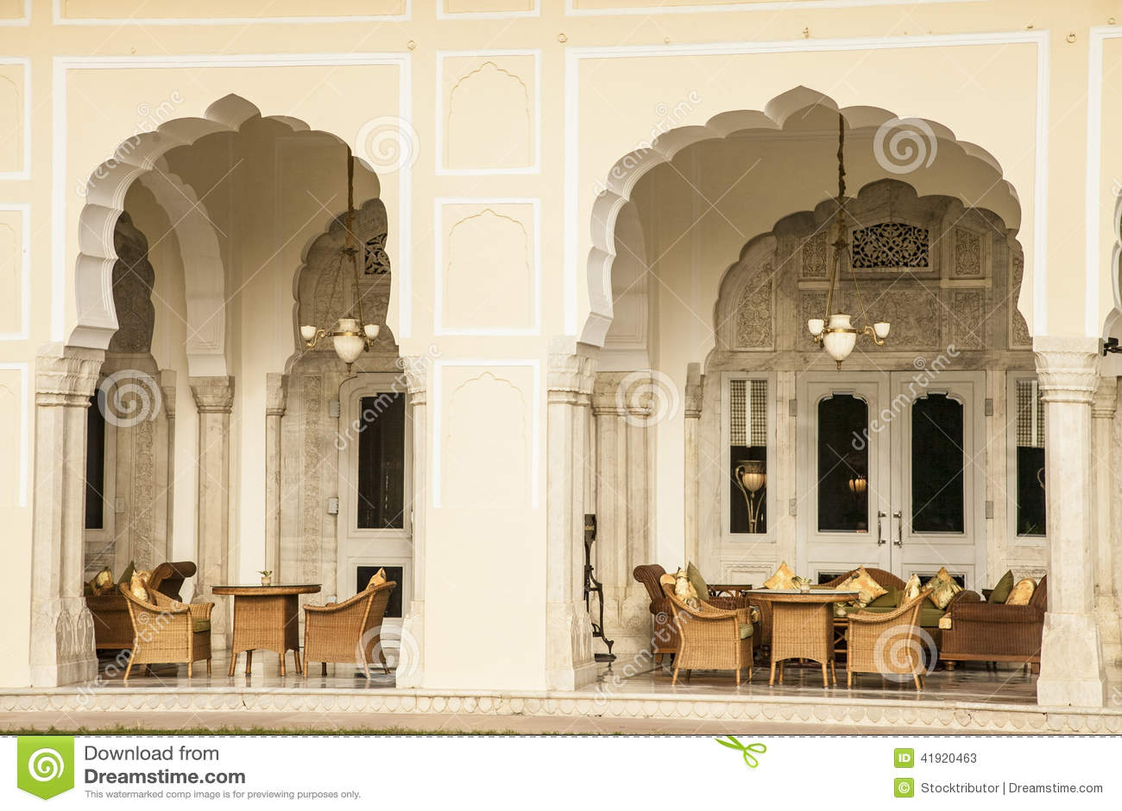 Detalles arquitectónicos indios