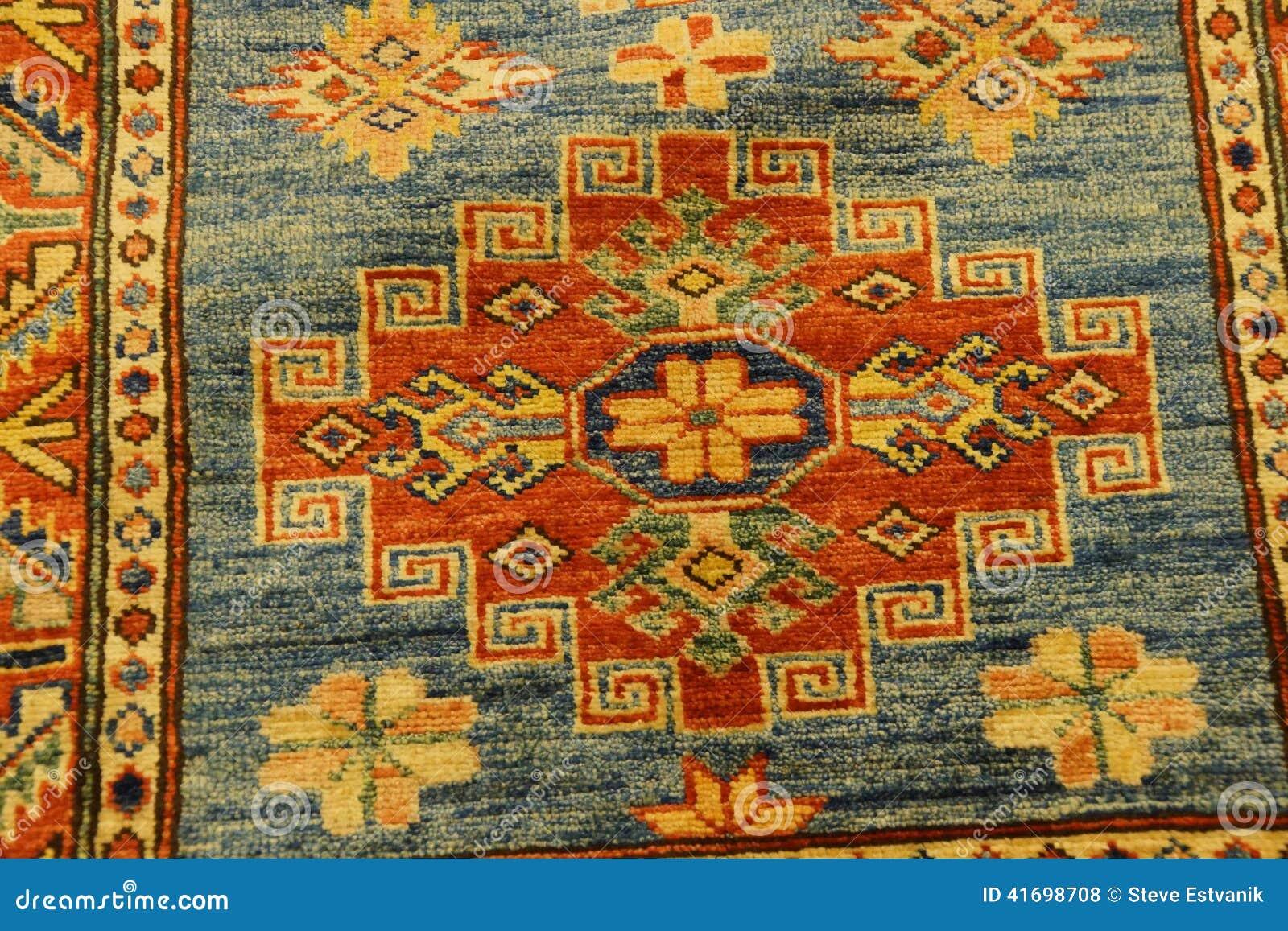 Detalles de modelos azules complejos en alfombras turcas for Alfombras turcas baratas