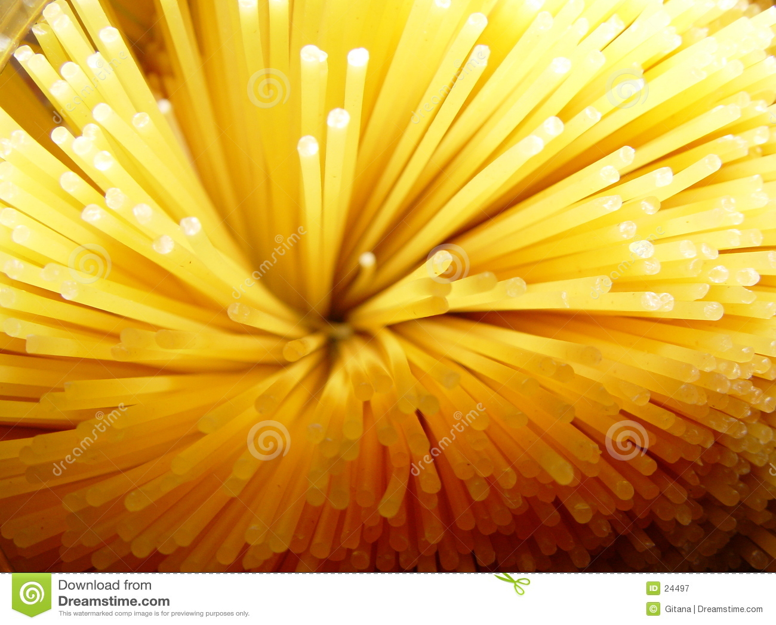 Detalles del espagueti