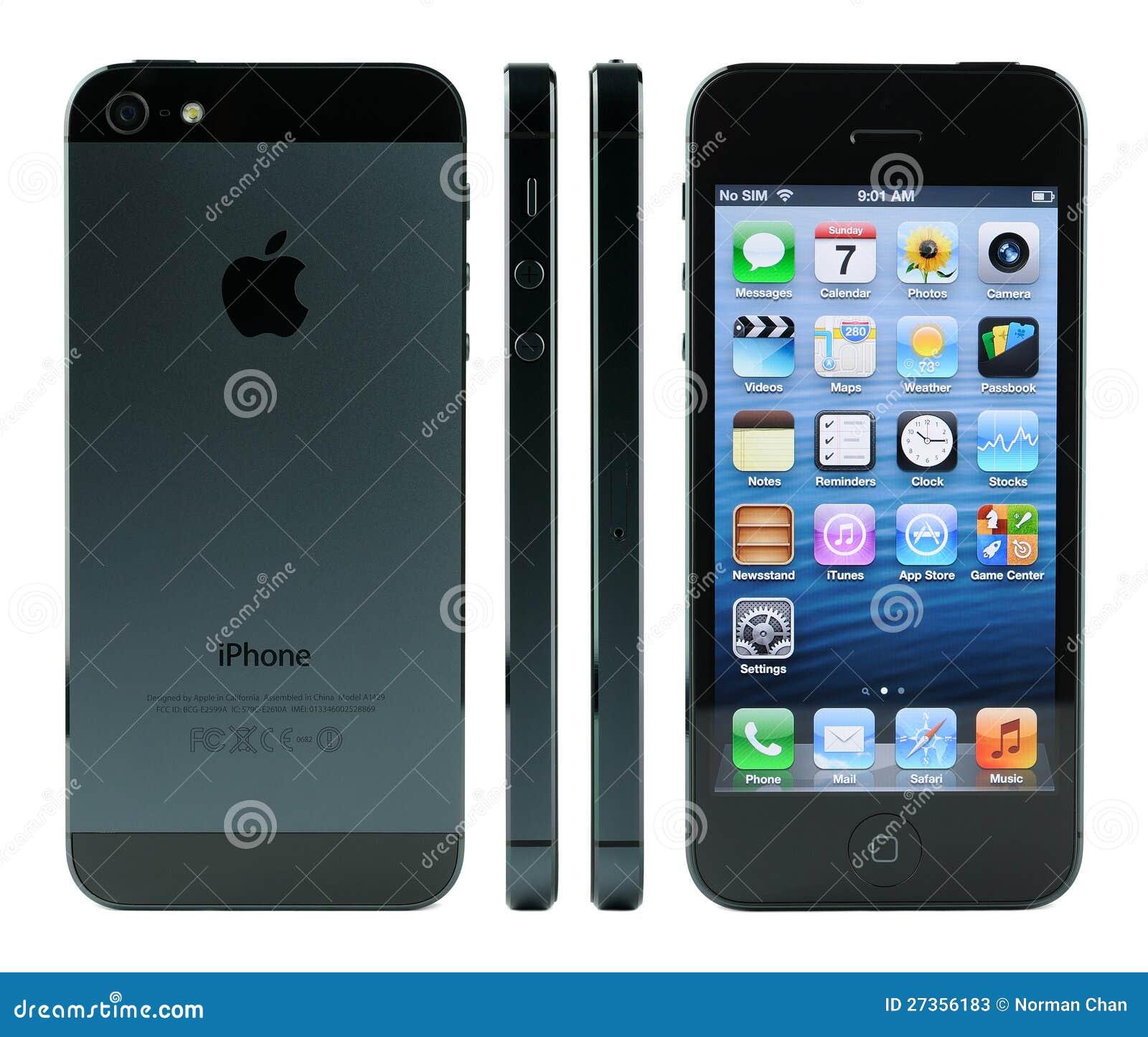 Detalles del iPhone 5
