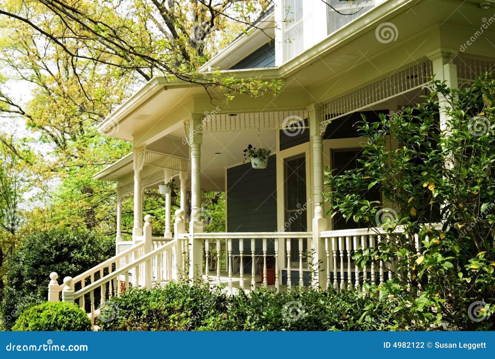 Detalles del p rtico casa del victorian fotograf a de for Costo del portico anteriore