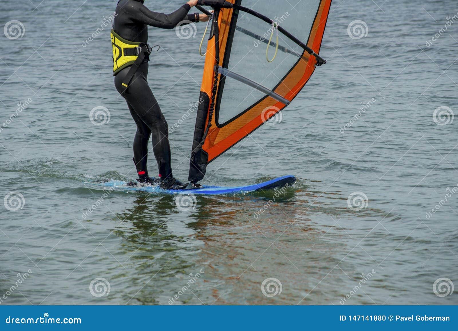 Detalles del windsurf