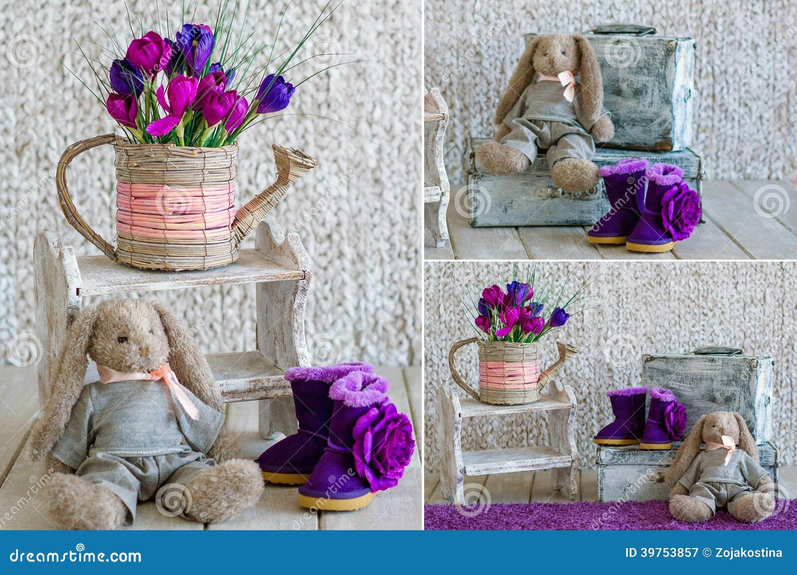 Detalles interiores de la decoraci n del vintage imagen de - Detalles vintage decoracion ...