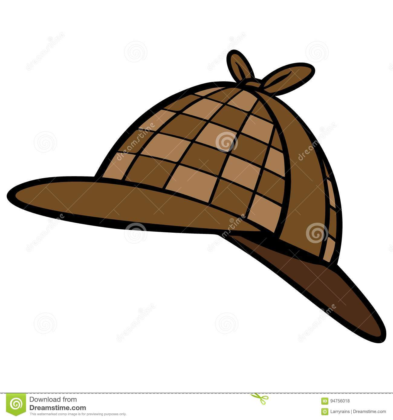 detective hat stock vector illustration of mystery criminal justice clip art free Criminal Justice Quotes