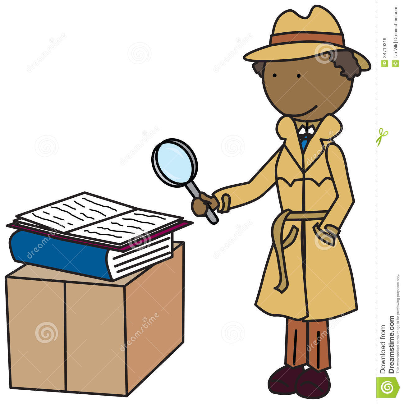 clipart magnifying glass detective - photo #20