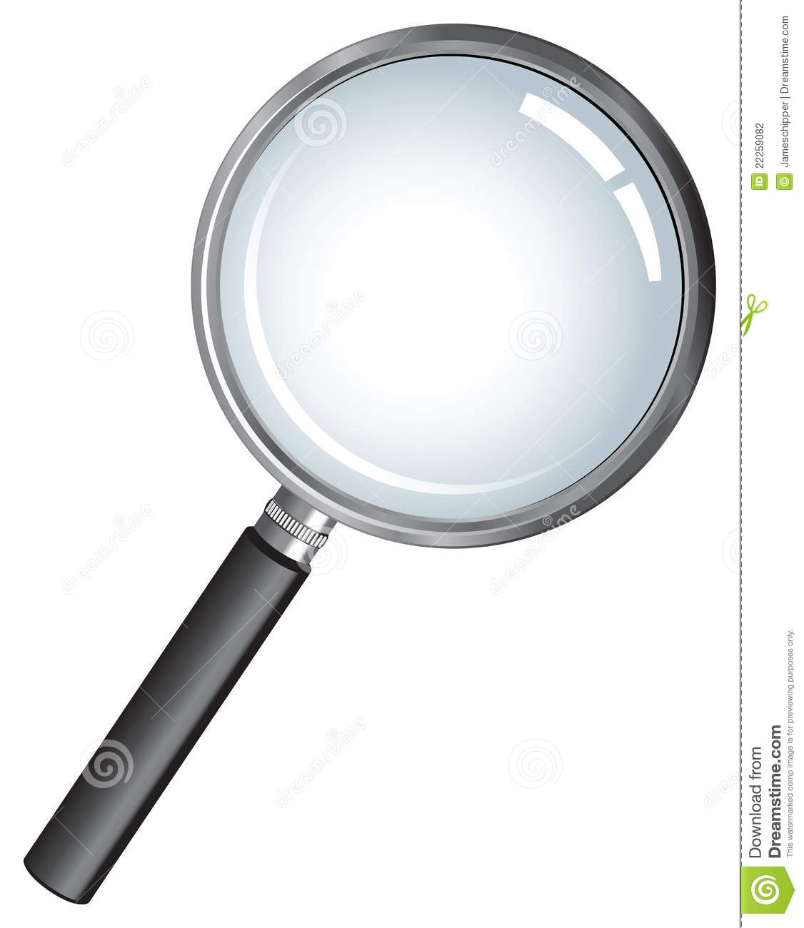Detective Magnifying Glass Stock Photography Image 22259082