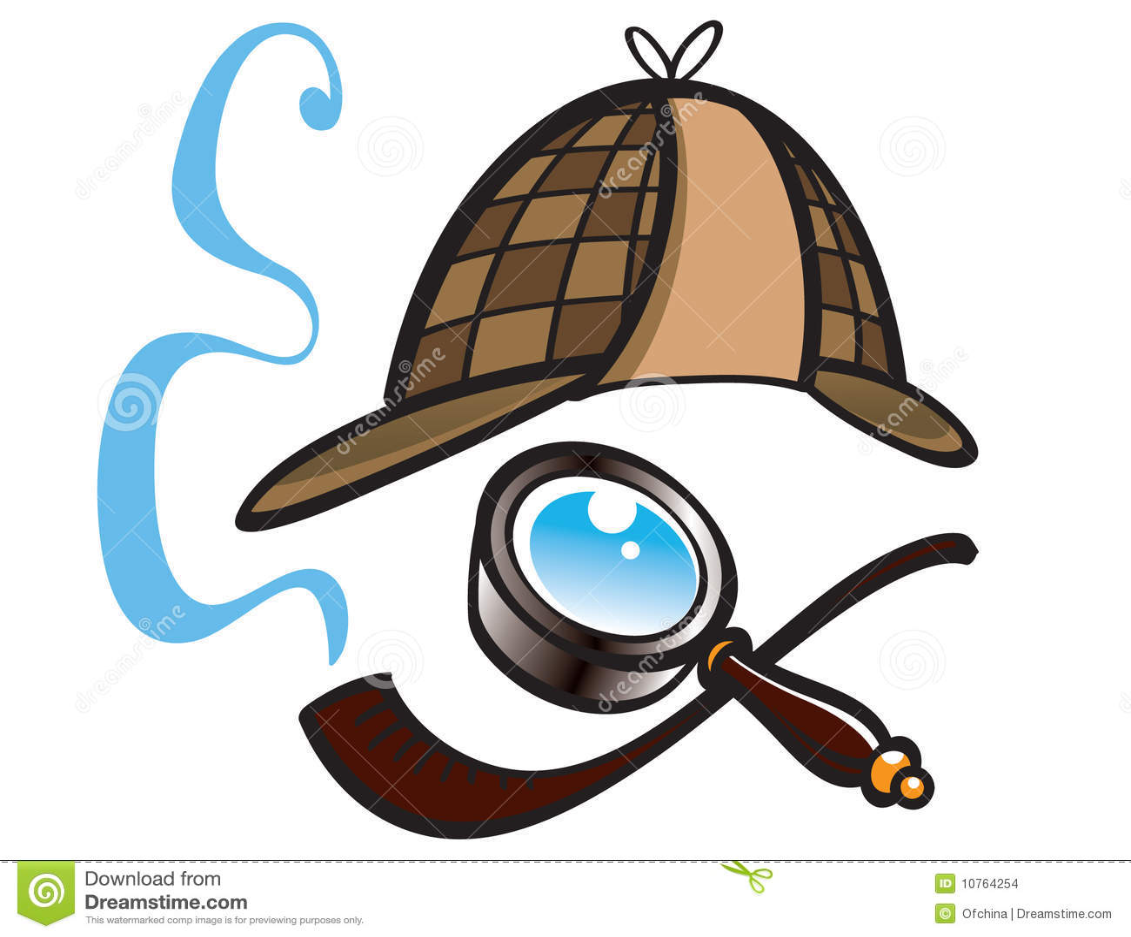 Detektive Hut, Lupe