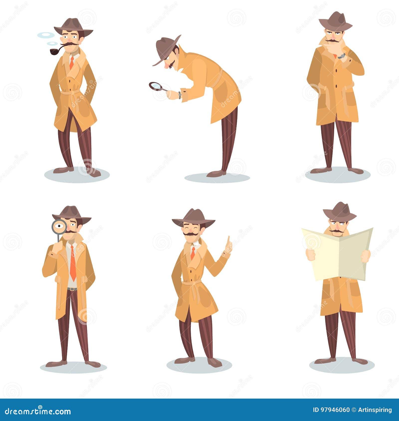 Detektywa set