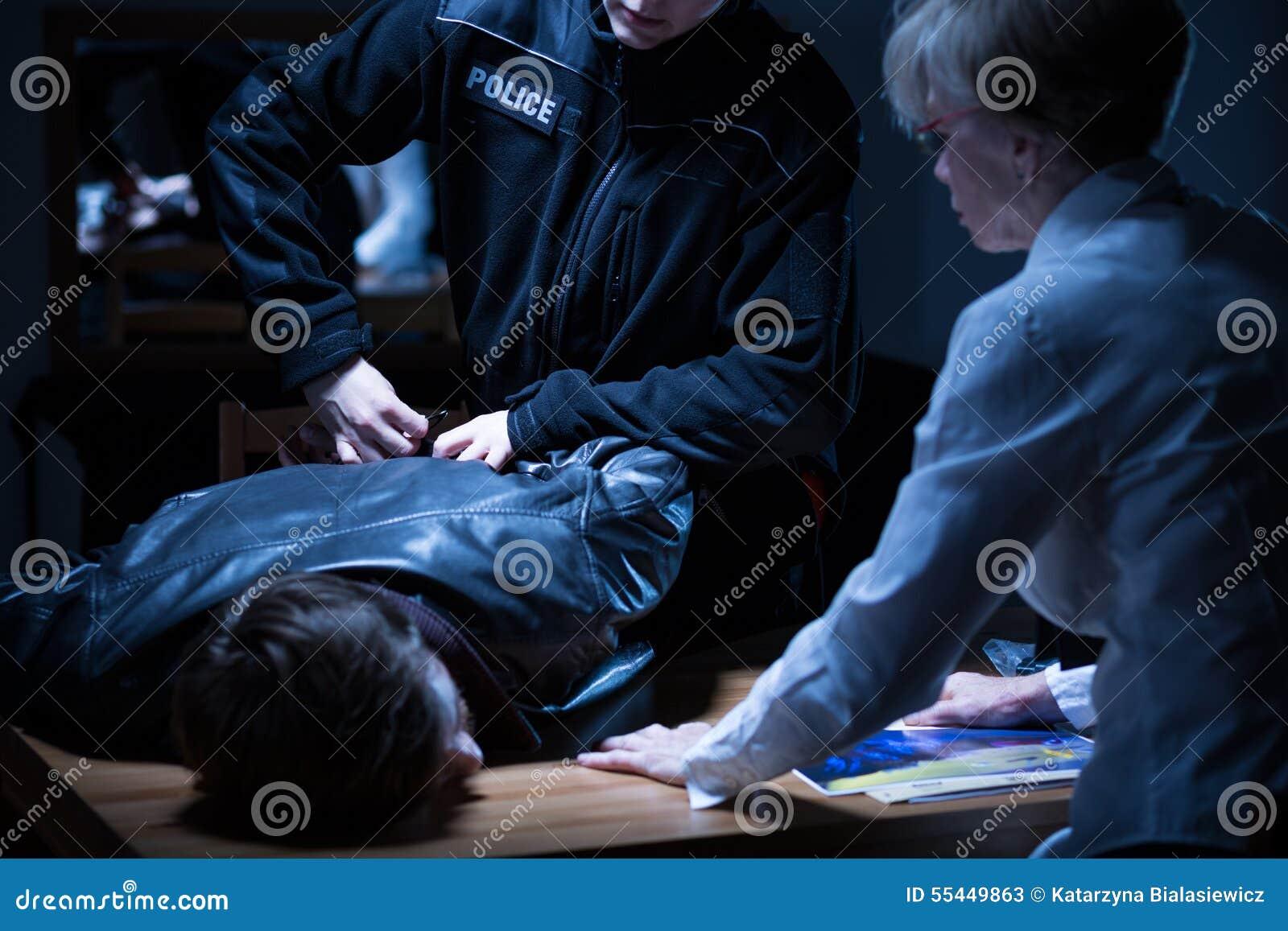 Detención en sitio de la interrogación