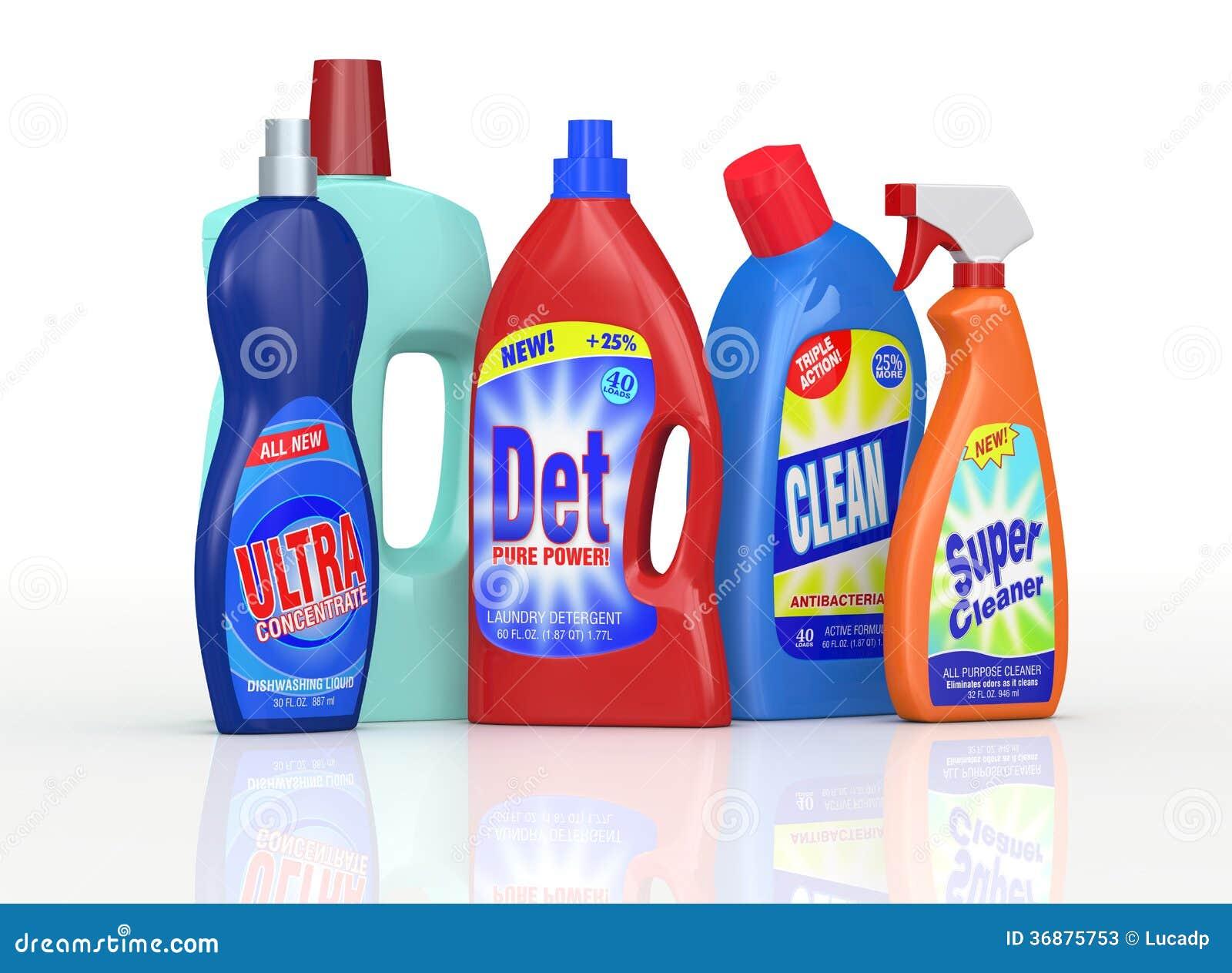 Detergent Bottles Stock Photos Image 36875753