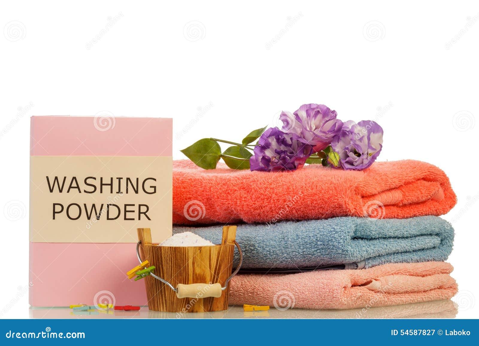 Detersivo ed asciugamani