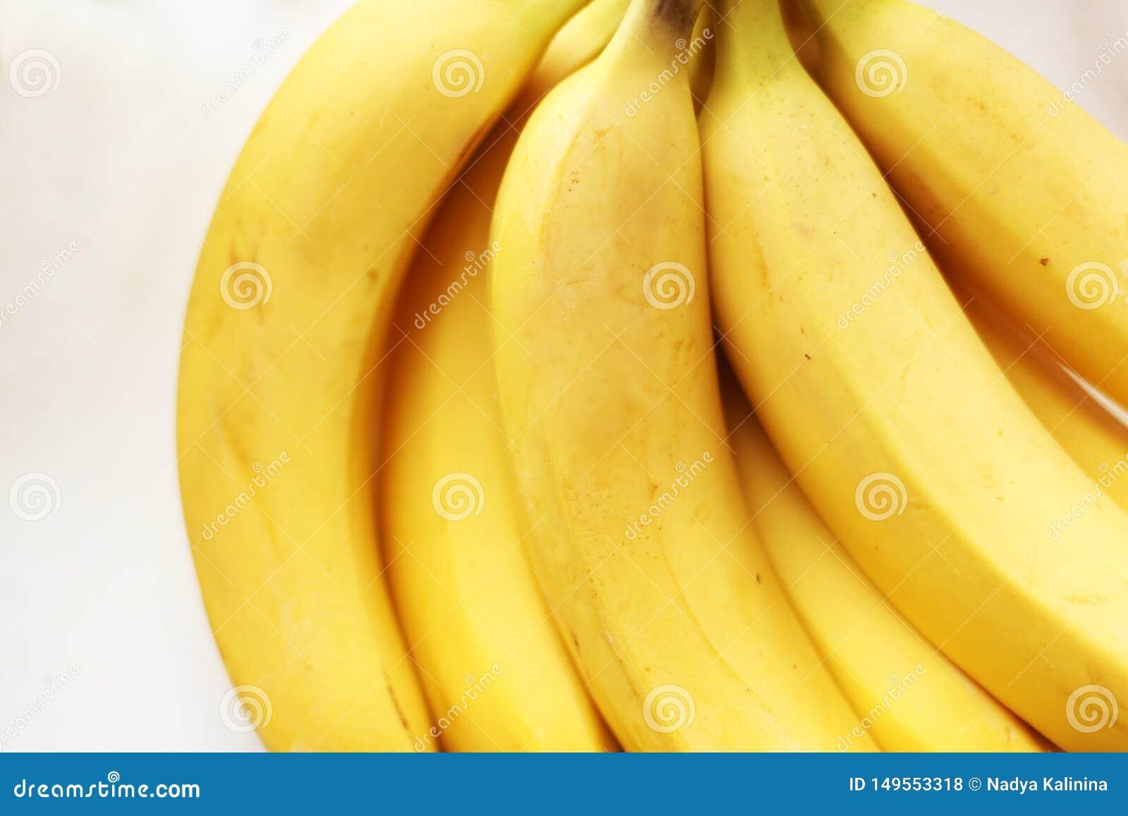 Detox amarillo sano Pl?tano fresco