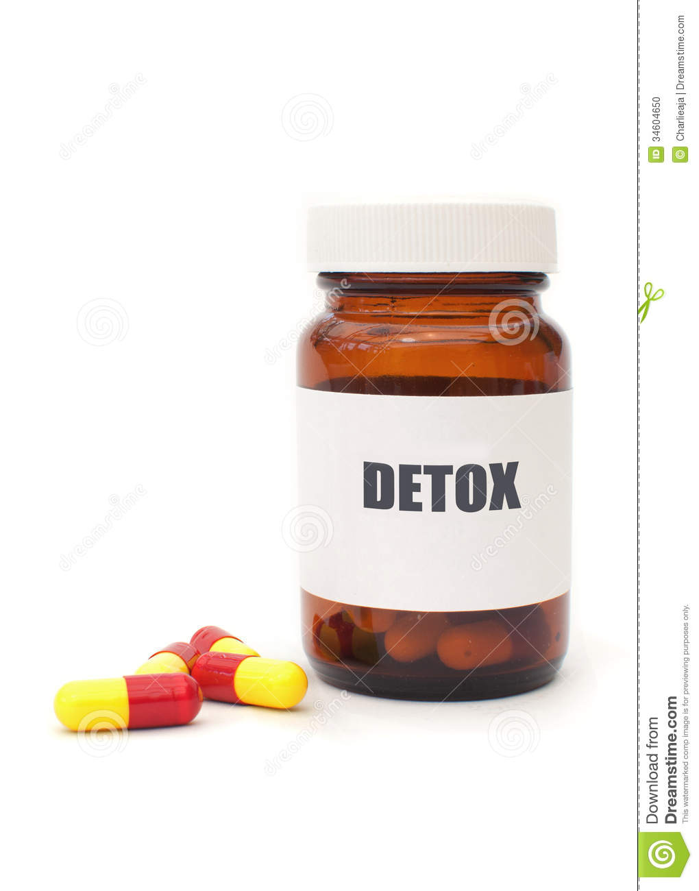 Detox pills stock photo. Image of cleansing, health ...