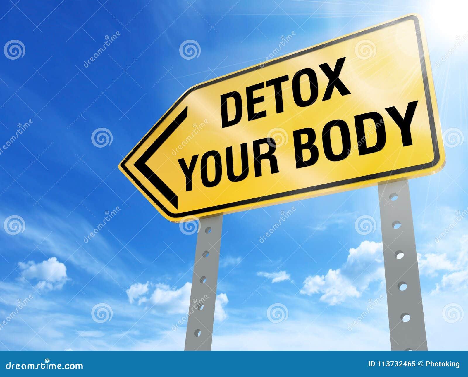 Detox uw lichaamsteken