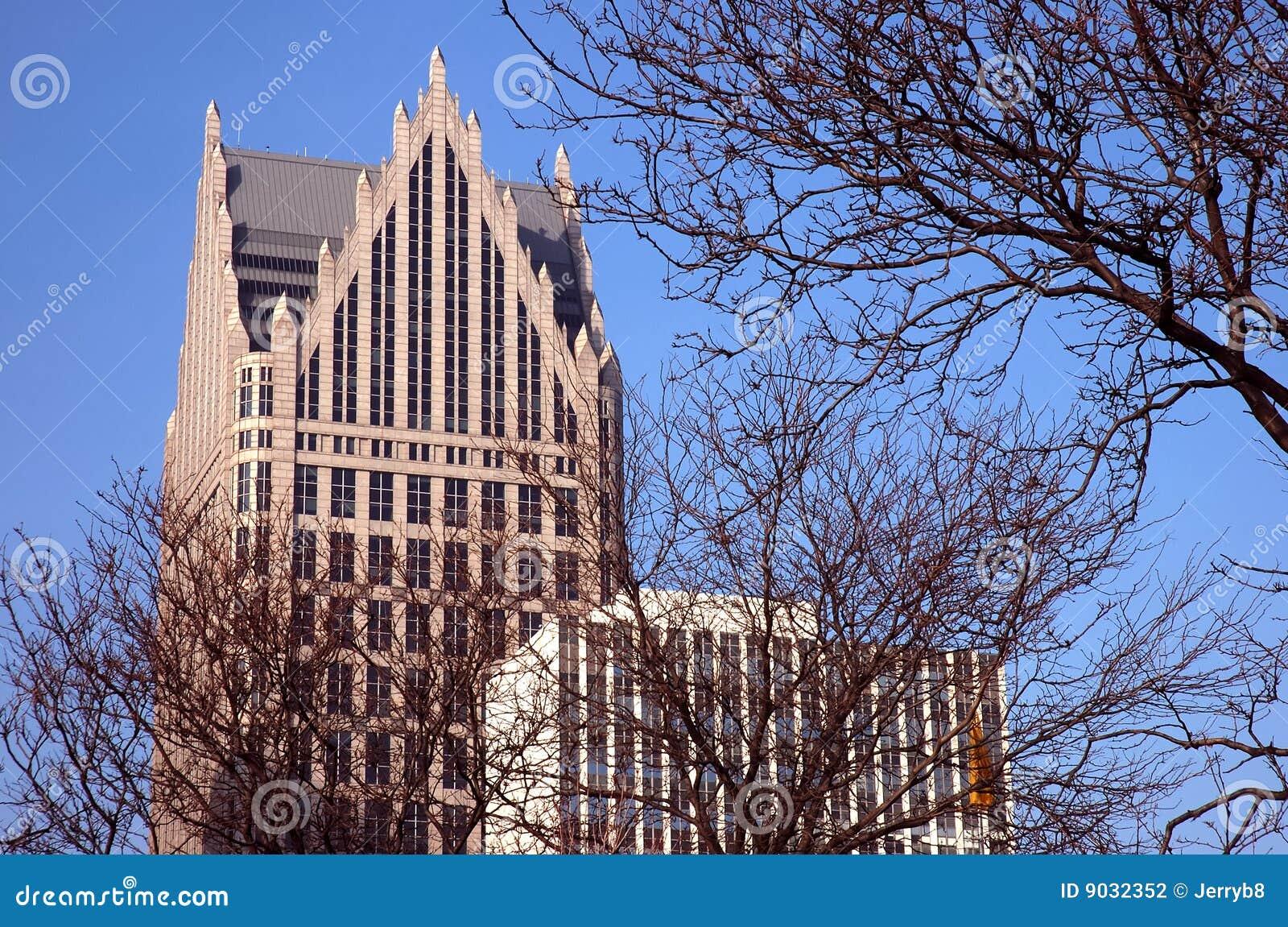 Detroit architecture stock photography image 9032352 for Detroit architectes