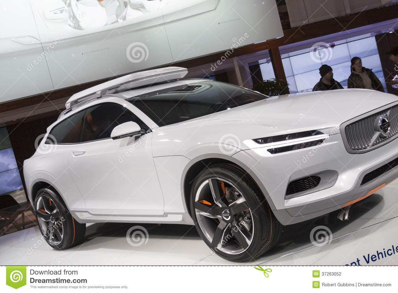 Detroit January 26 The New 2015 Volvo Concept Xc Coupe At