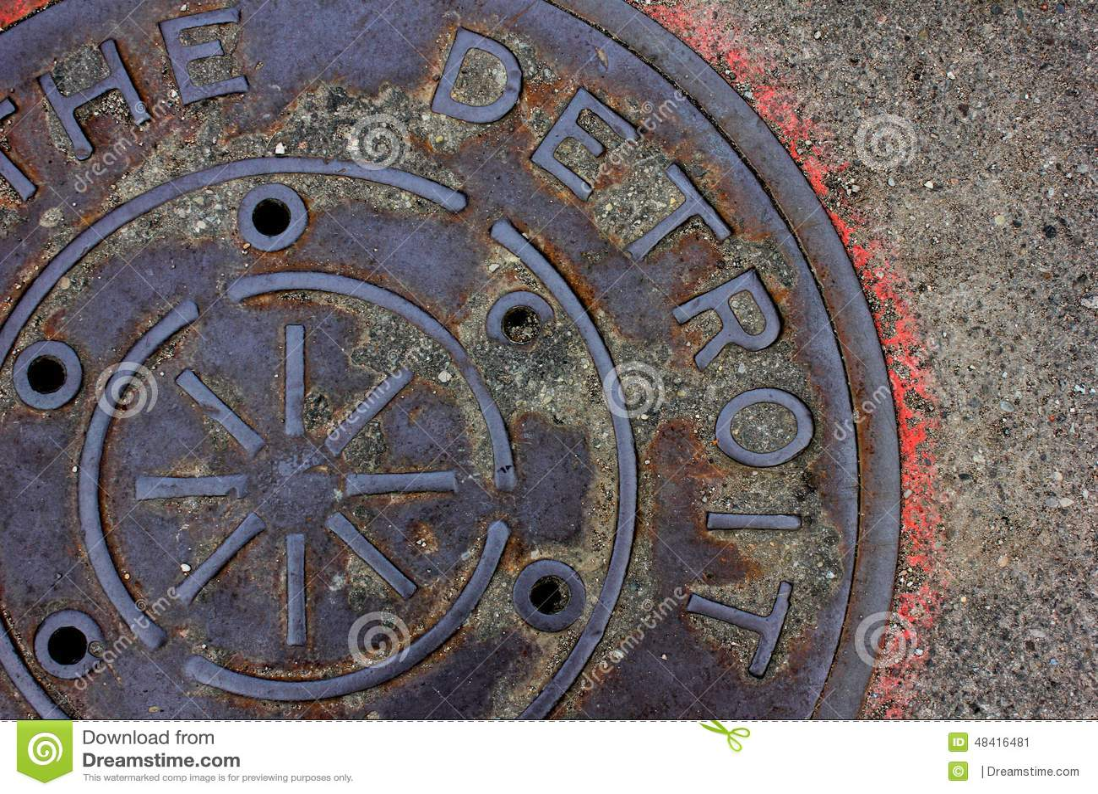 Detroit manhole