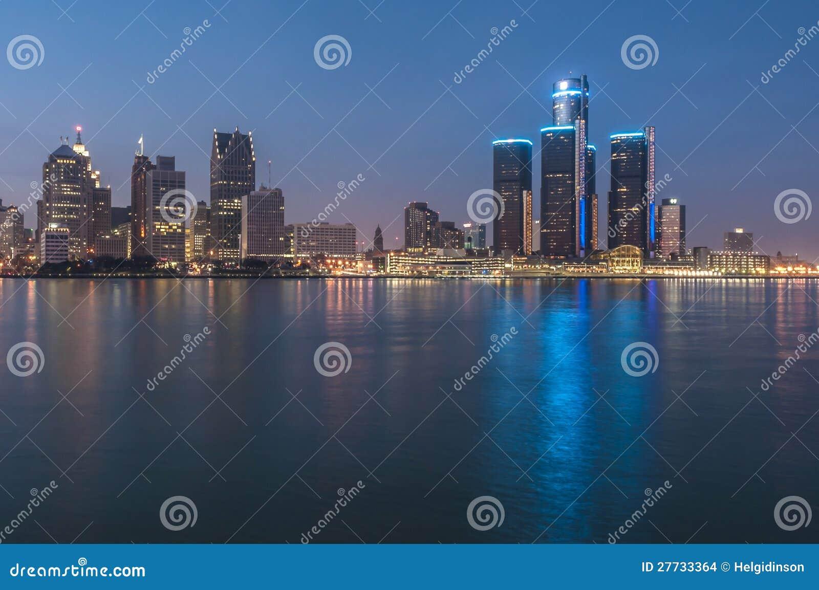Detroit nachts