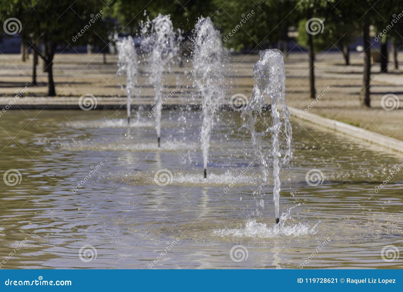 Dettaglio ad un waterjet