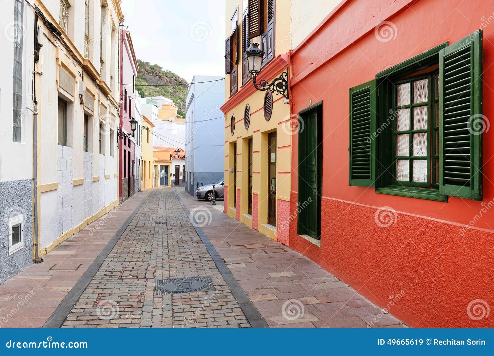 Dettaglio architettonico in San Sebastian de la Gomera