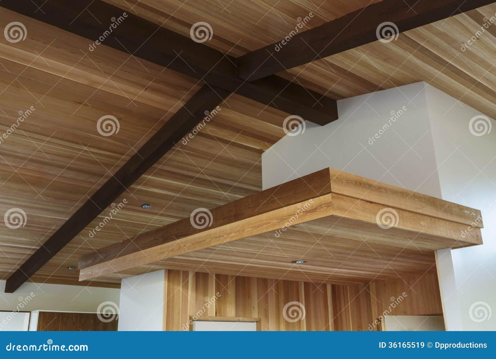 Soffitti In Legno Moderni : Travi a vista finte qualità soffitti in legno moderni scaffale