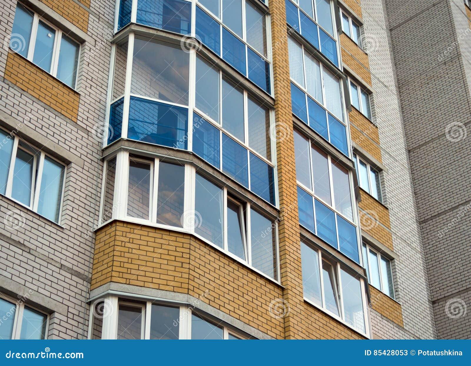 Dettaglio della facciata della casa con mattoni a vista for Architettura moderna della casa