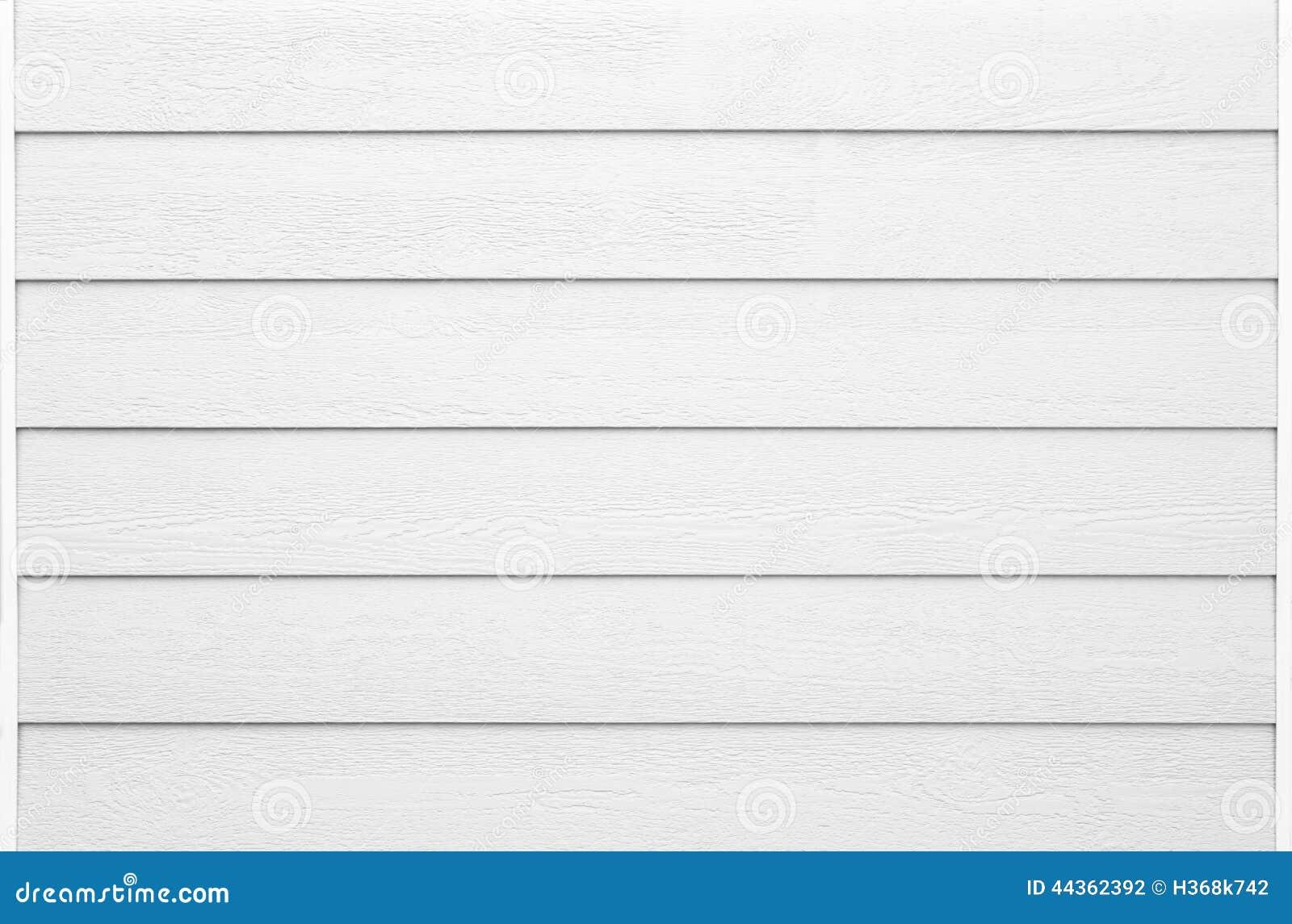 Dettaglio di legno bianco della facciata nel formato orizzontale